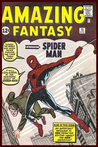 Amazing Fantasy 15 Comic Cover